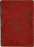 Books:First Editions, N. Howard Thorp. Songs of the Cowboys. Estancia [NewMexico]: News Print Shop, [1908]....