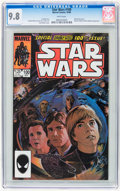 Modern Age (1980-Present):Science Fiction, Star Wars #100 (Marvel, 1985) CGC NM/MT 9.8 White pages....