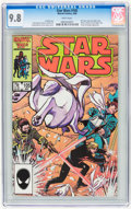 Modern Age (1980-Present):Science Fiction, Star Wars #105 (Marvel, 1986) CGC NM/MT 9.8 White pages....