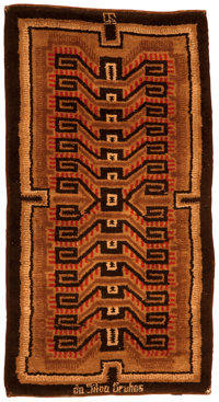 IVAN DA SILVA BRUHNS A French Wool Pile Carpet, circa 1925-1930 Marks: monogrammed and signed in the weave