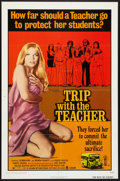 "Movie Posters:Sexploitation, Trip with the Teacher (Crown International, 1974). One Sheet (27"" X 41""). Sexploitation.. ..."
