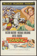 "Movie Posters:Adventure, Zarak (Columbia, 1956). One Sheet (27"" X 41"") and Lobby Cards (8)(11"" X 14""). Adventure.. ... (Total: 9 Item)"