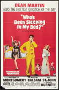 "Movie Posters:Comedy, Who's Been Sleeping in My Bed? (Paramount, 1963). One Sheet (27"" X 41""). Comedy.. ..."