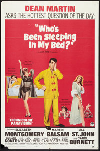"""Who's Been Sleeping in My Bed? (Paramount, 1963). One Sheet (27"""" X 41""""). Comedy"""