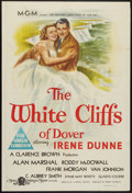 "Movie Posters:War, The White Cliffs of Dover (MGM, 1944). Australian One Sheet (27"" X40""). War.. ..."