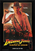 """Movie Posters:Adventure, Indiana Jones and the Temple of Doom (Paramount, 1984). One Sheet(27"""" X 41"""") Advance and Video Poster (27"""" X 40""""). Adventur...(Total: 2 Items)"""