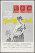"Movie Posters:Bad Girl, Sorority Girl (American International, 1957). One Sheet (27"" X 41"")Flat Folded. Bad Girl.. ..."