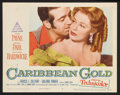 """Movie Posters:Adventure, Caribbean Gold (Paramount, 1952). Lobby Card Set of 8 (11"""" X 14"""").Adventure.. ... (Total: 8 Items)"""