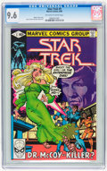 Modern Age (1980-Present):Science Fiction, Star Trek #5 (Marvel, 1980) CGC NM+ 9.6 Off-white to white pages....