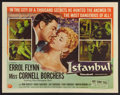 "Movie Posters:Adventure, Istanbul (Universal International, 1957). Half Sheet (22"" X 28"")Style A. Adventure.. ..."