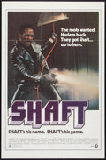 "Movie Posters:Blaxploitation, Shaft (MGM, 1971). One Sheet (27"" X 41""). Blaxploitation.. ..."