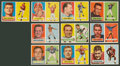 Football Cards:Sets, 1957 Topps Football Partial Set (134/154) With Starr & UnitasRookies! ...