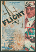 "Movie Posters:Adventure, Flight (Columbia, 1929). Herald (7"" X 8"" Folded Out). Adventure....."