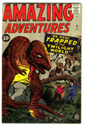 Silver Age (1956-1969):Horror, Amazing Adventures #3 (Marvel, 1961) Condition: Apparent FN/VF....