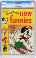Golden Age (1938-1955):Cartoon Character, New Funnies #120 File Copy (Dell, 1947) CGC NM+ 9.6 Cream to off-white pages....