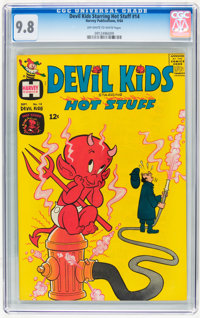 Devil Kids Starring Hot Stuff #14 File Copy (Harvey, 1964) CGC NM/MT 9.8 Off-white to white pages