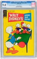 Bronze Age (1970-1979):Cartoon Character, Walt Disney's Comics and Stories #402 File Copy (Gold Key, 1974)CGC NM/MT 9.8 Off-white to white pages....