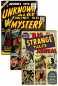 Silver Age (1956-1969):Horror, Atlas Silver Age Horror Group (Atlas, 1955-62) Condition: AverageVG.... (Total: 5 Comic Books)