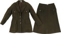 Military & Patriotic:WWI, WWI American Red Cross Woman's Motor Service Tunic, Skirt andHat.... (Total: 3 Items)