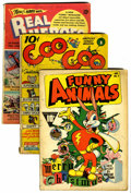 Golden Age (1938-1955):Miscellaneous, Comic Books - Assorted Golden Age Comics Group (Various Publishers, 1940s) Condition: Average VG-.... (Total: 12 )