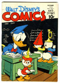 Golden Age (1938-1955):Cartoon Character, Walt Disney's Comics and Stories #37 (Dell, 1943) Condition: VG+....