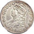 Bust Half Dollars, 1815/2 50C --Improperly Cleaned--NGC. Extremely Fine Details....