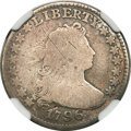 Early Dimes, 1796 10C --Scratches, Improperly Cleaned--NGC. Good Details....