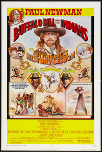 "Buffalo Bill and the Indians, or Sitting Bull's History Lesson (United Artists, 1976). One Sheet (27"" X 41"")..."