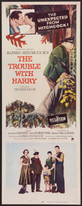 """Movie Posters:Hitchcock, The Trouble With Harry (Paramount, 1955). Insert (14"""" X 36"""").Hitchcock.. ..."""