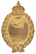 Military & Patriotic:WWI, World War I German Navy Land Plane Pilot's Badge....