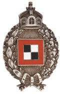 Military & Patriotic:WWI, World War I: Imperial German Army Observer Badge....