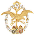 Military & Patriotic:WWI, World War I Austrian Badge for Aircraft Observers and Balloon Pilots....