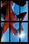 Original Comic Art:Covers, Alex Ross Marvels Trade Paperback Painted Cover Original Art(Marvel, c. 2001)....