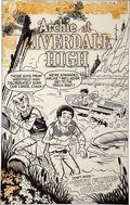 Original Comic Art:Covers, Stan Goldberg Archie at Riverdale High #66 Cover OriginalArt (Archie, 1979)....