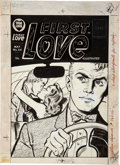 Original Comic Art:Covers, First Love Illustrated #64 Cover Original Art (Harvey,1956)....