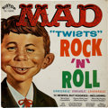 "Memorabilia:MAD, Mad ""Twists"" Rock 'n' Roll Record Album (Big Top, 1962)...."