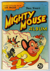 Giant Comics Edition #14 Mighty Mouse Album (St. John, 1950) Condition: VG+