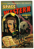 Golden Age (1938-1955):Science Fiction, Space Western #43 (Charlton, 1953) Condition: FN....