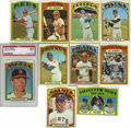 Baseball Cards:Sets, 1972 Topps Baseball Complete Set (792). The largest Topps issue of its time appeared in 1972, with the set consisting of 787...
