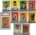 Baseball Cards:Sets, 1961 Fleer Baseball Greats Complete Set (154). For the secondconsecutive year, Fleer issued a set utilizing the Baseball Gr...