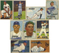 Baseball Cards:Sets, 1951 Bowman Baseball Near Set (241/324). Near set is missing 83 of 324 cards. Highlights include #6 Don Newcombe, 46 George...