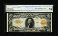 Large Size:Gold Certificates, Fr. 1187 $20 1922 Gold Certificate CGA Gem Uncirculated 65....