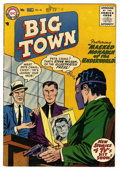 Silver Age (1956-1969):Mystery, Big Town #42 (DC, 1956) Condition: FN/VF....