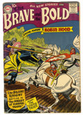 Silver Age (1956-1969):Adventure, The Brave and the Bold #11 (DC, 1957) Condition: VG....