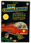 Golden Age (1938-1955):Science Fiction, Boy Commandos #36 (DC, 1949) Condition: VG/FN....