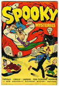 "Golden Age (1938-1955):Romance, Spooky Mysteries #1 Davis Crippen (""D"" Copy) pedigree (Your GuidePublishing Co., 1946) Condition: VF+...."