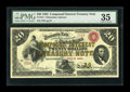 Large Size:Compound Interest Treasury Notes, Fr. 191 $20 1864 Compound Interest Treasury Note PMG Choice VeryFine 35....