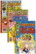 Bronze Age (1970-1979):Cartoon Character, Richie Rich and His Girlfriends #1-16 File Copy Group (Harvey,1979-82) Condition: Average NM-.... (Total: 16 )