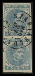 Stamps, 5c (6 & 7),... (Total: 2 Card)