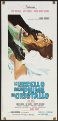"Movie Posters:Crime, The Bird with the Crystal Plumage (Titanus, 1969). Italian Locandina (13"" X 27""). Crime.. ..."
